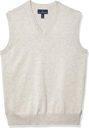 Buttoned Down Amazon Brand Men's 100% Supima Cotton Sweater Vest