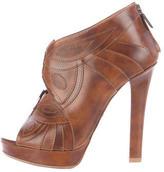 Bottega Veneta Butterfly Leather Booties