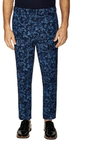 3.1 Phillip Lim Floral Print Slim Fit Riding Trousers