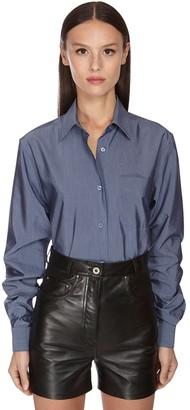 Salvatore Ferragamo Cotton & Silk Shirt