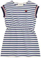 Gucci Striped Cotton Knit Dress