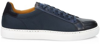 Saks Fifth Avenue COLLECTION BY MAGNANNI Leather & Canvas Sneakers