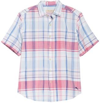 Tommy Bahama Baracoa Bay Plaid Short Sleeve Shirt
