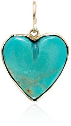 Jacquie Aiche 14kt Gold Heart-Shape Pendant Charm