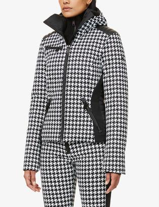 Goldbergh Kate houndstooth-print woven jacket