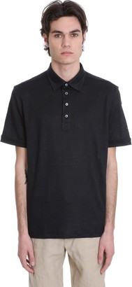 Ermenegildo Zegna Polo In Black Triacetate