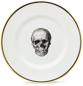 Melody Rose London Skull Bone China Dessert Plate