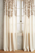 Anthropologie Vining Velvet Curtain