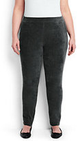 Classic Women's Plus Size Sport Corduroy Leggings-True Navy