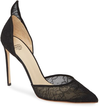 Francesco Russo d'Orsay Pointed Toe Pump