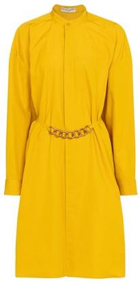 Givenchy Embellished cotton shirt dress
