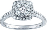 Nicole Miller Nicole By 5/8 CT. T.W. Diamond Engagement Ring 14K Gold