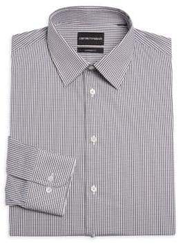 Emporio Armani Modern Check Dress Shirt