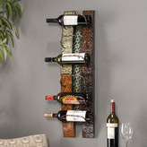 World Menagerie Saephan 6 Bottle Wall Mounted Wine Rack