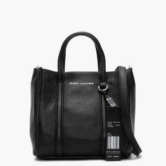 Marc Jacobs Tag 21 Black Pebbled Leather Tote Bag
