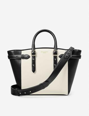Aspinal of London Marylebone Midi leather shoulder bag