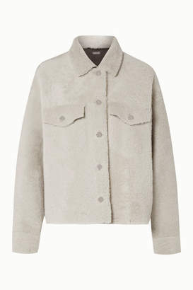Utzon Reversible Shearling Jacket - Off-white