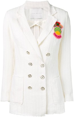 Giada Benincasa Embroidered Fitted Blazer