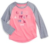 Under Armour Play with Heart Graphic Tee (Baby Girls)