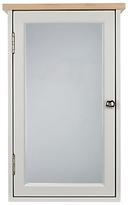 John Lewis Croft Collection Blakeney Single Mirrored Bathroom Cabinet. Light Silver