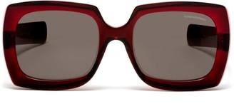 Oliver Goldsmith Sunglasses Fuz 1966 Berry