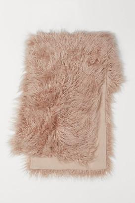 H&M Faux Fur Bed Runner - Beige