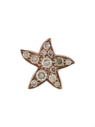 Dodo 9kt rose gold diamond Star earring