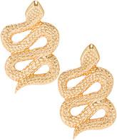 Ninon Serpent of Eden Earrings in Gold | FWRD