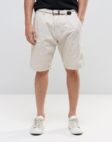 Esprit Chino Shorts with Woven Belt