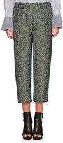 Burberry X Barneys New York Women's Paisley Silk Crop Pajama Pants