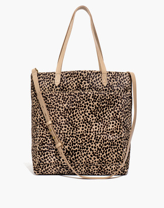 Madewell The Medium Transport Tote: Printed Calf Hair Edition
