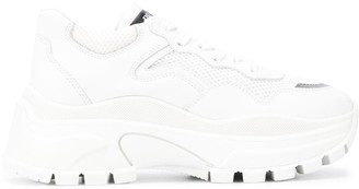 Prada Chunky Lace-Up Sneakers