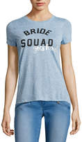 BELLE + SKY Short-Sleeve Bridal Boyfriend Tee