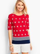 Talbots Stars & Stripes Sweater