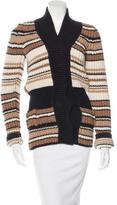 Balenciaga Alpaca & Wool-Blend Knit Cardigan
