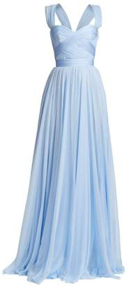 Ralph And Russo Silk Chiffon A-Line Gown