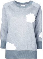 Anya Hindmarch clouds patch sweatshirt
