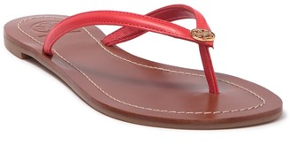 Tory Burch Terra Leather Flip Flop