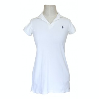 Polo Ralph Lauren White Cotton Dresses