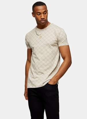 SikSilk TopmanTopman White Reverse Collar T-shirt