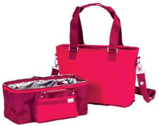 Little Company Spice Shopper/Cooling Bag in Tonal Reds