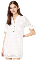 Lost + Wander LOST + WANDER Living The Dream Mini Dress (White) Women's Clothing