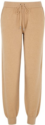 Johnstons of Elgin Josephine Camel Cashmere Sweatpants