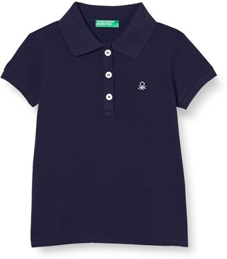 Benetton Baby Girls' Maglia Polo M/m Shirt