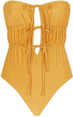 Solid & Striped Paula Bow Tie Swimsuit