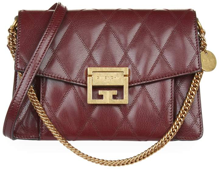 Givenchy Small Quilted GV3 Cross Body Bag