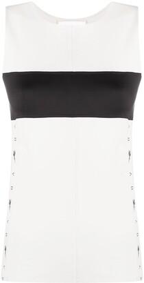 Reebok x Victoria Beckham colour-block T-shirt