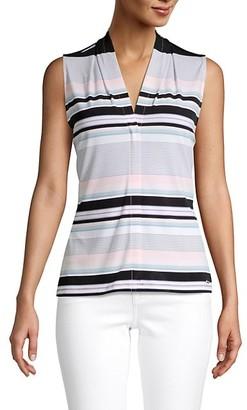 Calvin Klein Multicolored Striped Top