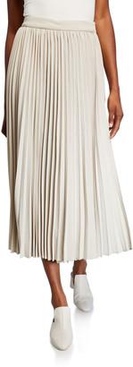 Co Pleated Wrap Skirt