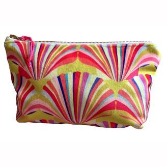 Chloe Croft London Limited Luxury Yellow Velvet Cosmetic Bag